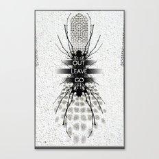 alienate Canvas Print