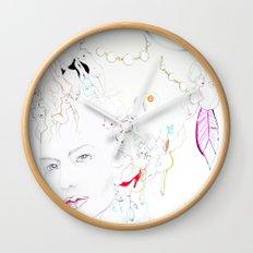 Marie Antoniette Wall Clock