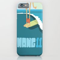 iPhone & iPod Case featuring Hang 11 by peanutbuttajennie