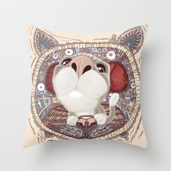 Controlled Throw Pillow