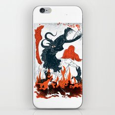 A Jersey Devil Haunting iPhone & iPod Skin