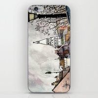 Sacre-Coeur iPhone & iPod Skin