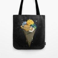 Galactic Ice Cream Tote Bag
