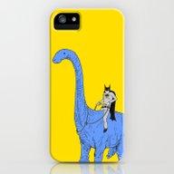 Dinosaur B iPhone (5, 5s) Slim Case
