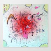 Nucleus Canvas Print