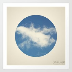 Circular 02 Art Print