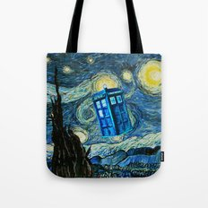 Flying Tardis doctor who starry night iPhone 4 4s 5 5c 6, pillow case, mugs and tshirt Tote Bag