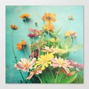 I Carry You With Me Into the World Canvas Print