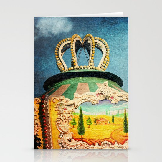 carnival visit Stationery Card