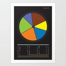 Information design. Art Print