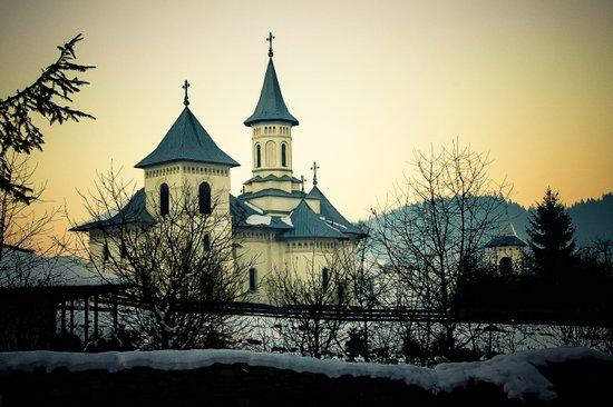An Orthodox Church near Suceava, Romania Art Print