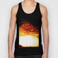 Gold Greed Unisex Tank Top