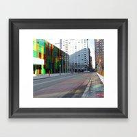 Palais De Congrès, Mont… Framed Art Print