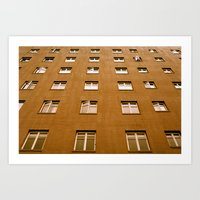 Windows Art Print