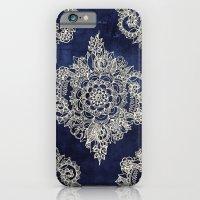 Cream Floral Moroccan Pa… iPhone 6 Slim Case