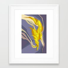 Abstract island#2 Framed Art Print