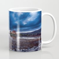 Dark Skies at Eilean Donan Castle Mug