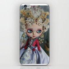 BAROQUE MARIE ANTOINETTE BLYTHE ART DOLL PINK iPhone & iPod Skin