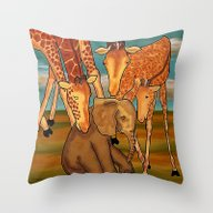 Throw Pillow featuring Love  by Grapesmithsarts