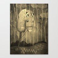 The Hobby Horse Canvas Print