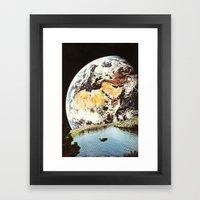 La Terra Da Un Punto Di … Framed Art Print