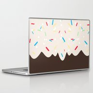 Hot Chocolate With Whipp… Laptop & iPad Skin