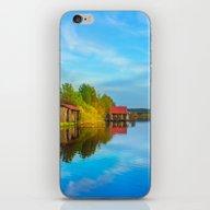 Fishing Dream Lake iPhone & iPod Skin