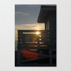 Guarding the Sun Canvas Print