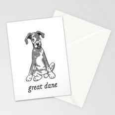 Dog Breeds: Great Dane Stationery Cards