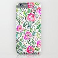 Hibiscus Frolic iPhone 6 Slim Case