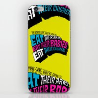The Bible Says They're Going to Eat Their Babies iPhone & iPod Skin
