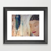 Strong Buddha Framed Art Print