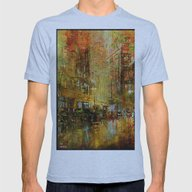 An Evening In Detroit Mens Fitted Tee Athletic Blue SMALL