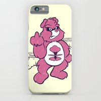 iPhone & iPod Case featuring Don't Care Bear  by Fanboy30