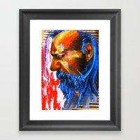 Le Sphinx Des Contre-all… Framed Art Print