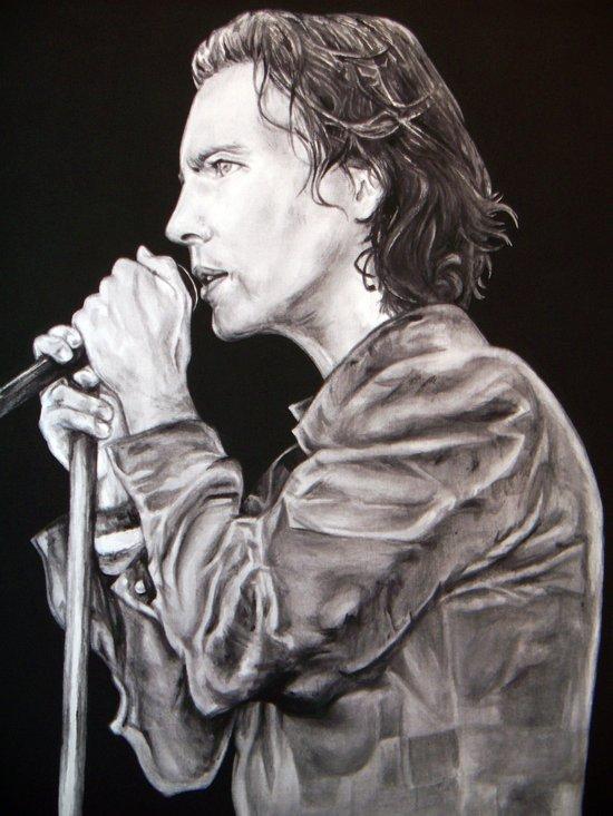 Eddie Vedder - Pearl Jam Art Print