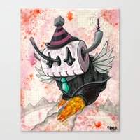 The Robot Monster 001011… Canvas Print