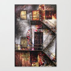 Urban Building Canvas Print