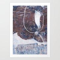 Lines & Texture 6 Art Print