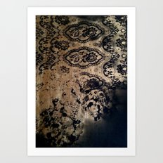 Untitled(gold&black) Art Print