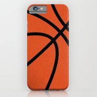 iPhone & iPod Case featuring BasketBall Pattern by Cloz000