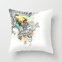V.C.M. Throw Pillow