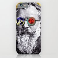 iPhone & iPod Case featuring Brahms in Reel to Reel Glasses by JustinPotts
