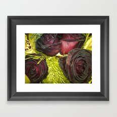 Purple Flowers 2 Framed Art Print