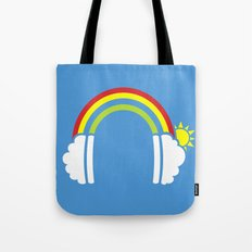Rainbowphones Tote Bag