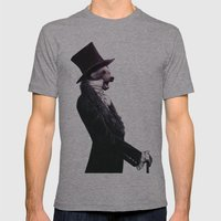 Unbearable Gentleman Mens Fitted Tee Athletic Grey SMALL