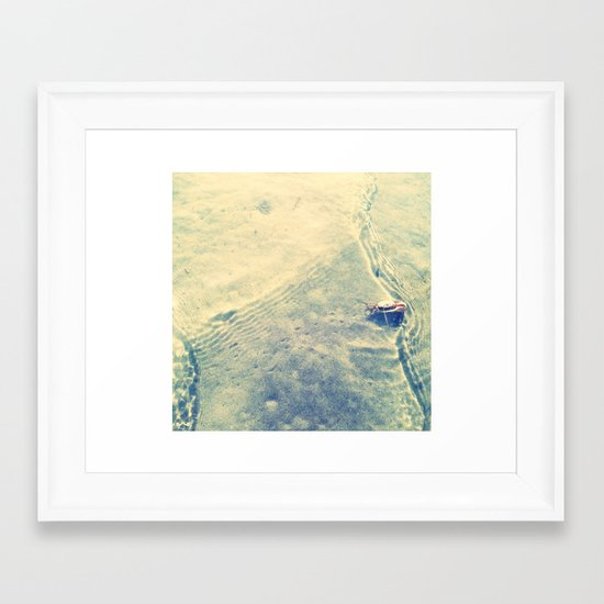 Rippling. Framed Art Print