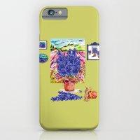 iPhone & iPod Case featuring Arranging Delphinium by KarenHarveyCox