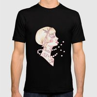 The Great Gatsby Mens Fitted Tee Black SMALL