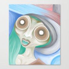 Alien Ailein Canvas Print